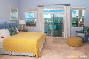 Grenada villa rental sea view